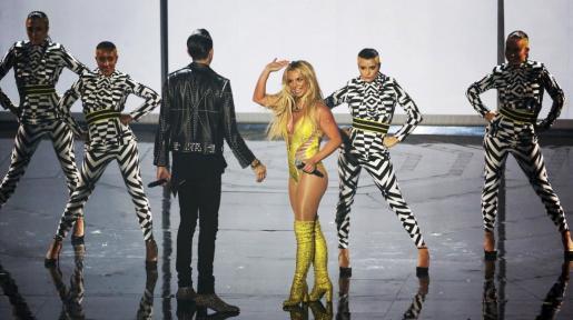 La compañía no ha hecho ningún comentario sobre el incidente de seguridad. En la imagen, Britney Spears, recientemente, en los premios MTV Video Music Awards en Nueva York.
