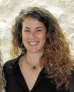 La regidora Aina Sastre.
