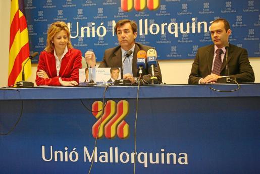 Cristina Cerdó, Miquel Nadal y Mateu Cañellas, en una imagen de archivo.