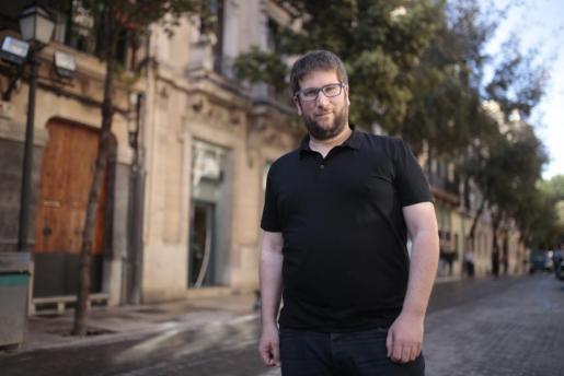 El eurodiputado de Podemos Miguel Urbán, en una anterior visita a Palma.