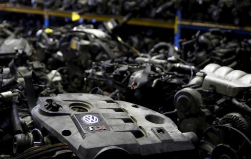 Motor diesel de Volkswagen.