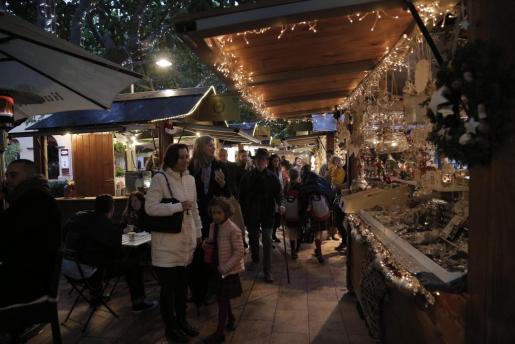 En la imagen, el Christmas Market de Port Portals.