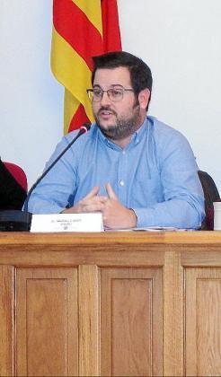 Miquel Cabot, en el pleno de Marratxí.