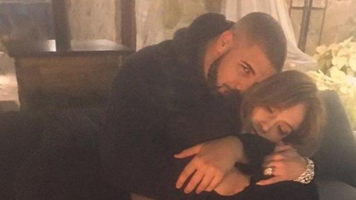 Los cantantes Drake y Jennifer López han compartido en Instragran esta fotografía.
