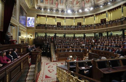 En la imagen, el Congreso de los Diputados.