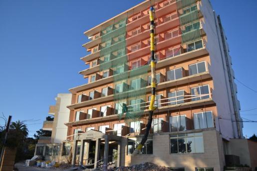 Imagen facilitada por el Ajuntament de Manacor de unas obras realizadas en el municipio.