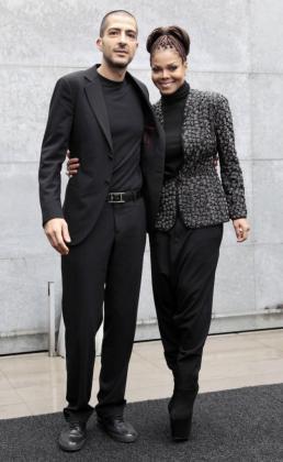 Janet Jackson y su esposo Wissam Al Mana.