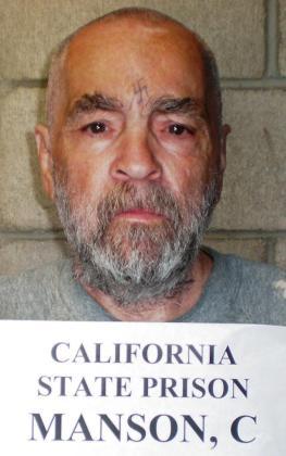 Charles Manson, en una de sus últimas fotografías en prisión.