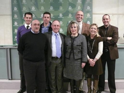 Toni Colom, Javier Bonnín, Toni Tauler, Arturo Sintes, Marga García, Joan Llompart, Dolça Mulet y Mateu Cañellas.