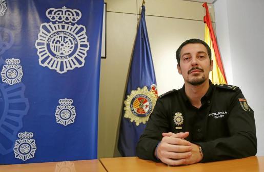 Jorge Miguel Rodríguez, inspector del Grupo de Delitos Tecnológicos del Cuerpo Nacional de Policía.