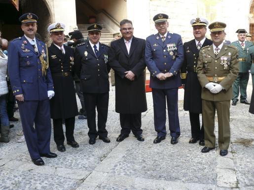 Carlos de Palma, Francisco Arenas, Bartomeu Campaner, Bartomeu Barceló, Cristòfol Sbert, José María Urrutia y Francisco Lanza.