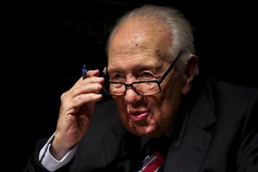 Foto de archivo del expresidente portugués Mario Soares, que ha fallecido este sábado a la edad de 92 años.