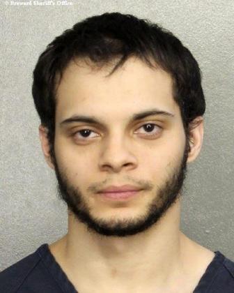 Esteban Santiago, detenido como presunto autor del tiroteo que costó la vida a cinco personas en el aeropuerto de Fort Laudardale, en Florida.