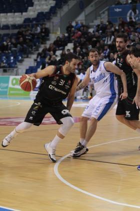 El Palau d'Esports de Son Moix ha vivido el partido entre el Palma Air Europa y el Melilla.