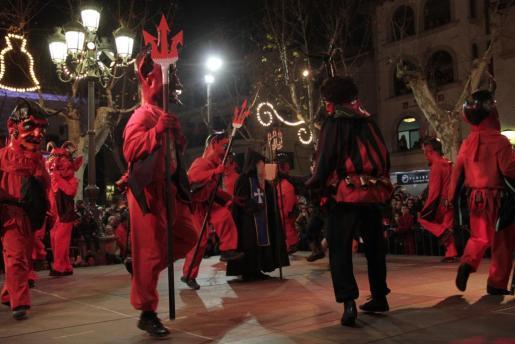 Celebración de Sant Antoni en Sa Pobla.