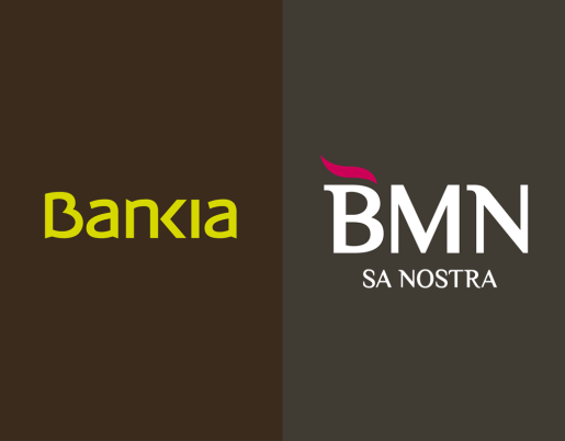 Bankia y BMN.