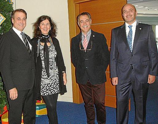 Ramón Esteve, Caty Socías, Llorenç García y Juan Manuel Cobacho.