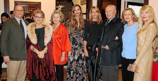 Nacho Deyá, Chus Gabilondo, Marga Montaner, Ana Mateas, Ana Calvar, Bartolomé Cabrer, Tin Bordoy y Marita Rehme.