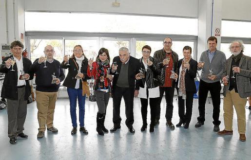 Iñaki Oteiza, Germà Ventayol, Mercedes Azagra, Eugenia Planas, Pere A. Serra, Jero Ballesta, Domi Brezmes, Carmen Serra, Andrés Rullán y Ferrán Aguiló.