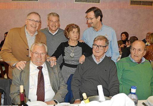 Juan Fernández, Manuel Fernández, Andreu Gelabert, Aina Ferrando, Gabriel Méndez, Antonio de Pedro y Martín Orozco.