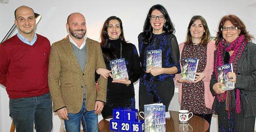 Víctor Malagón, Urko Urbieta, Carmen Morales, Gemma Marchena, Charo Hierro y Xesca Díaz.