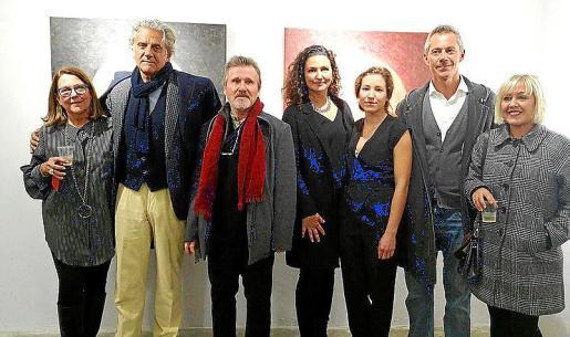 Marisa Aldeguer, Andrés Planas, Ángel Pascual, Carolina Amigó, Begoña Bailén, Juan Rodal y Eva Martín.