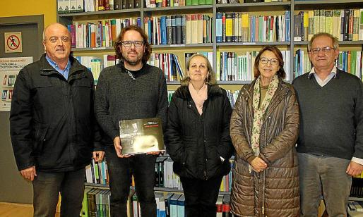 Diego Zaforteza, Tomás Vibot, Aina Pascual, Rosario Alomar y Francesc Sanchís.