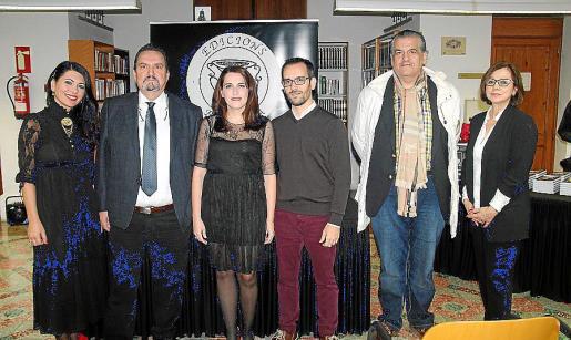 Carme Coll, Guillem Rosselló, Susana Ivorra, Pablo Beltrán, Climent Garau y Patri Vilella.