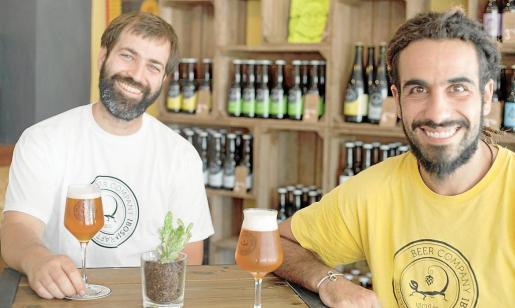 Carlos Guerrero y Óscar Enguita crearon la marca Ibosim hace casi cuatro años.