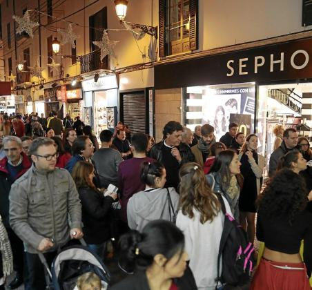 El Black Friday y la Navidad han impulsado las compras.