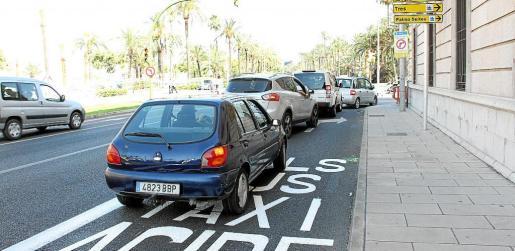 El tráfico es la principal causa de contaminación en Palma y Cort ya lo restringió en el centro el pasado verano.