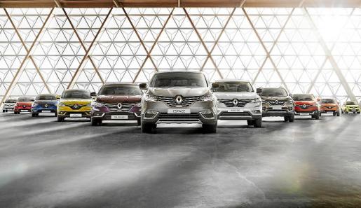 Los modelos Mégane y Clio se han situado en el top ten en el acumulado del año.