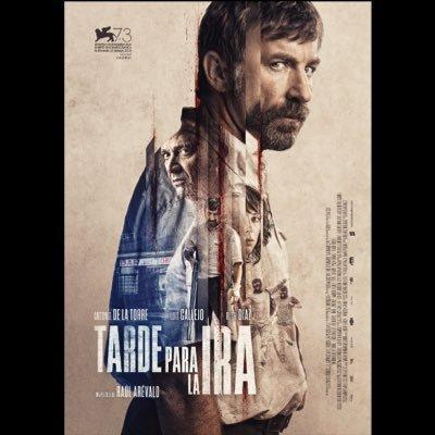 En la imagen, el cartel de la película 'Tarde para la ira' de Raúl Arévalo.