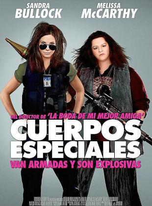 Cartel del film 'Cuerpos especiales'.