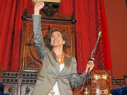 Calvo se comprometió a dirigir personalmente el urbanismo cuando tomó posesión como alcaldesa.