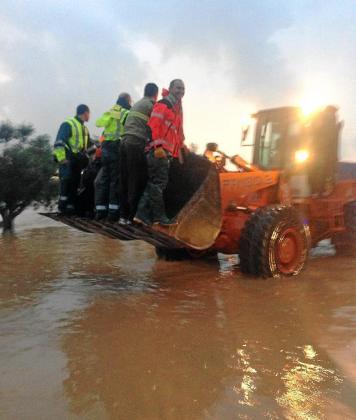 El intenso episodio de lluvias se produjo durante los días 19 y 20 de diciembre pasados.