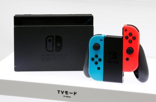 Imagen de la nueva consola de Nintendo, Switch.