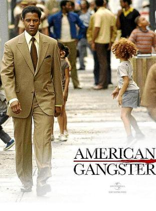 Cartel del film 'American Gangster'.