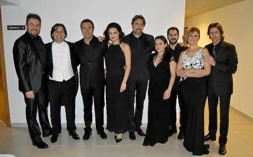 Nicola Ulivieri, Pablo Mielgo, Simón Orfila, Ruth Iniesta, Francisco de Santiago, Raffaella Lupinacci, Francisco Crespo, Mariola Cantarero y José Luis Sola.