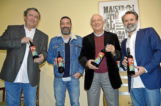 Ramón Servalls, Jaume Anglada, Sebastià Rubí y Jorge Muñoz.