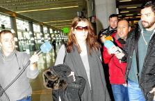 La madre de Nadia regresa a Mallorca: «Tengo muchas ganas de ver a mi hija»