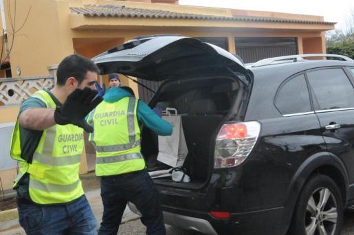 La detención fue practicada el pasado miércoles por agentes de la Guardia Civil de Inca.