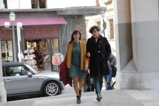 Laura Camargo y Marta Maicas, en una imagen de archivo.
