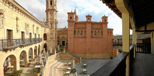 El Pueblo Español podría transformarse en un original complejo de viviendas residenciales de lujo.
