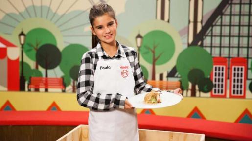 Paula, ganadora de MasterChef Junior.