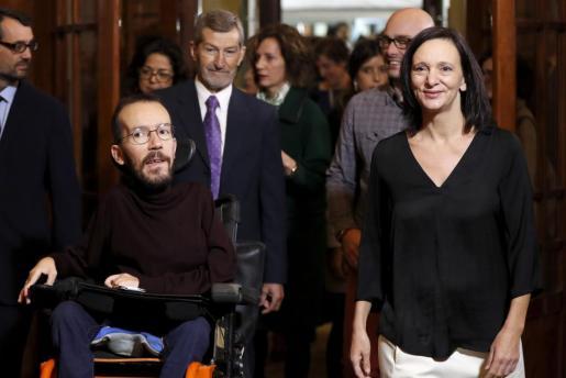 Diversos miembros de Podemos, en una imagen de archivo.