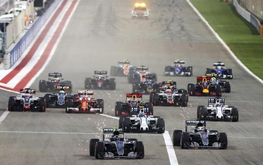 Imagen del Gran Premio de Baréin de 2016.