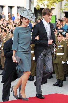 La princesa Tessy y Luis de Luxemburgo.