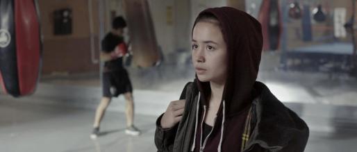 Julia Castaño, la actriz protagonista, que ha sido «un descubrimiento» para el cineasta, en una imagen del filme.