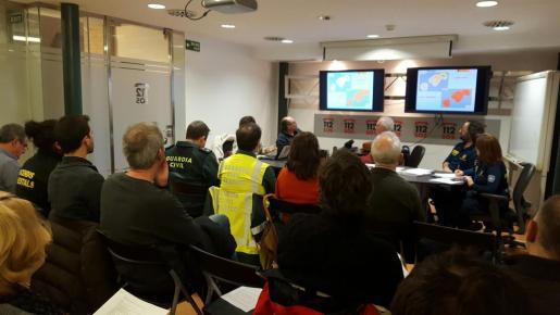 Este viernes se ha reunido el Grupo de Apoyo Técnico del METEOBAL.